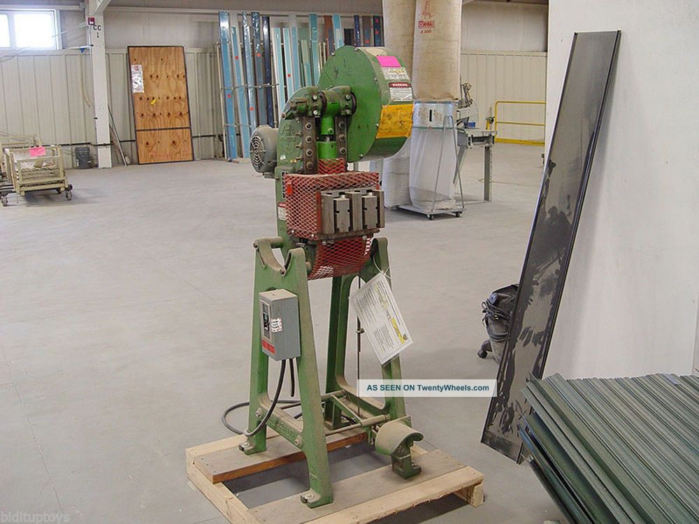 Alva Allen 5 Ton Obi Punch Press 7323p Metal Bending Machines photo