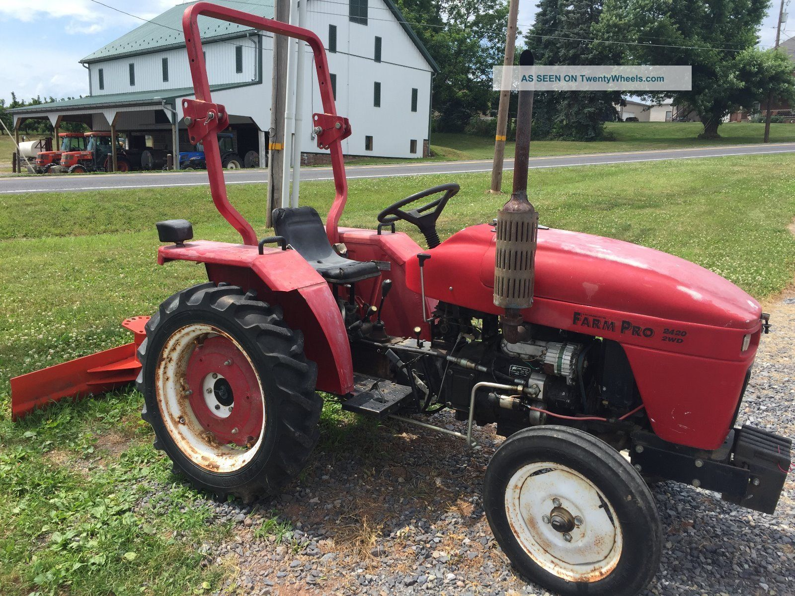 Small Tractors With Pto : Farm pro diesel compact tractor pt pto
