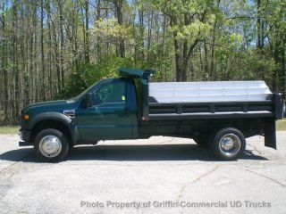 2008 Ford F550 4x4 Just 15k Miles 4wd Dump Truck photo