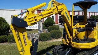 Komatsu Pc28uu Series Ii Mini Excavator - Finance Available. . . photo