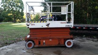 Snorkel Sl25 Scissor Lift photo