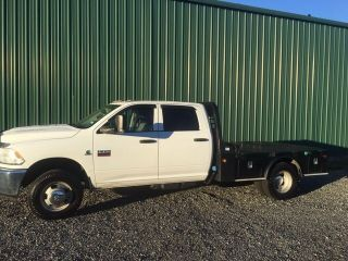 2012 Dodge 3500 Diesel Heavy Duty Flatbed Dually photo