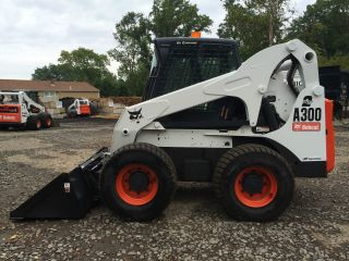 2005 Bobcat A300 All Wheel Steering Loader photo