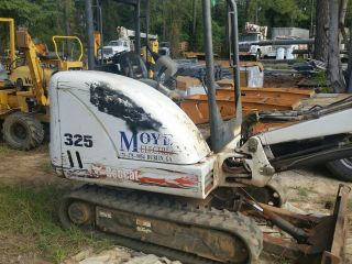2004 Bobcat 325g Mini Excavator photo