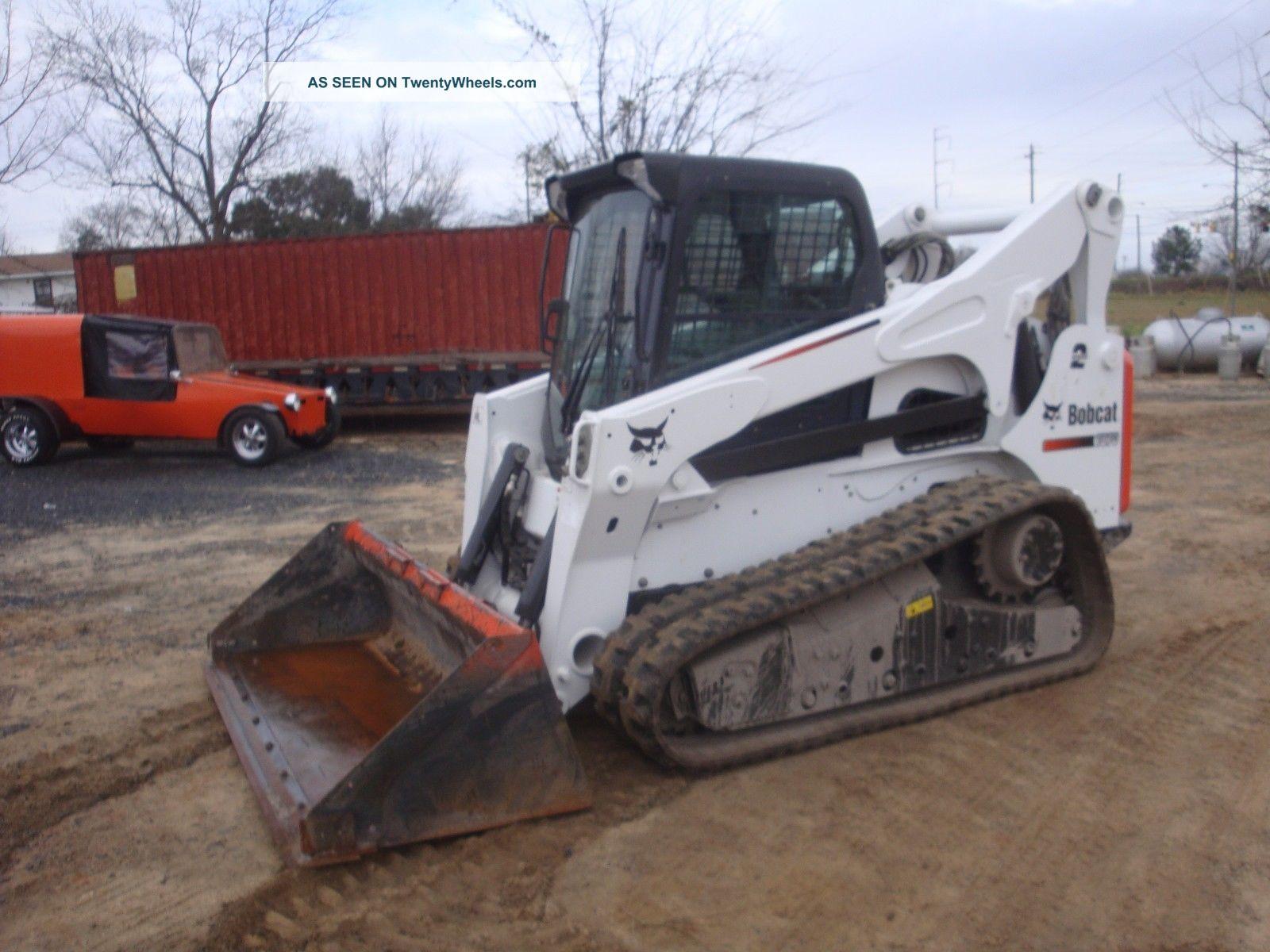 Bobcat Skid Steer Track Loader : Bobcat t track skid steer loader