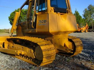 John Deere 750b Longtrack Bull Dozer photo