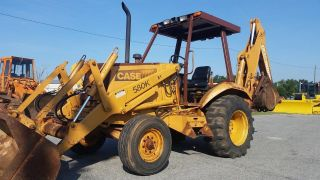 Case 580 K 2wd Backhoe With Open Cab - - Finance Available. . . photo