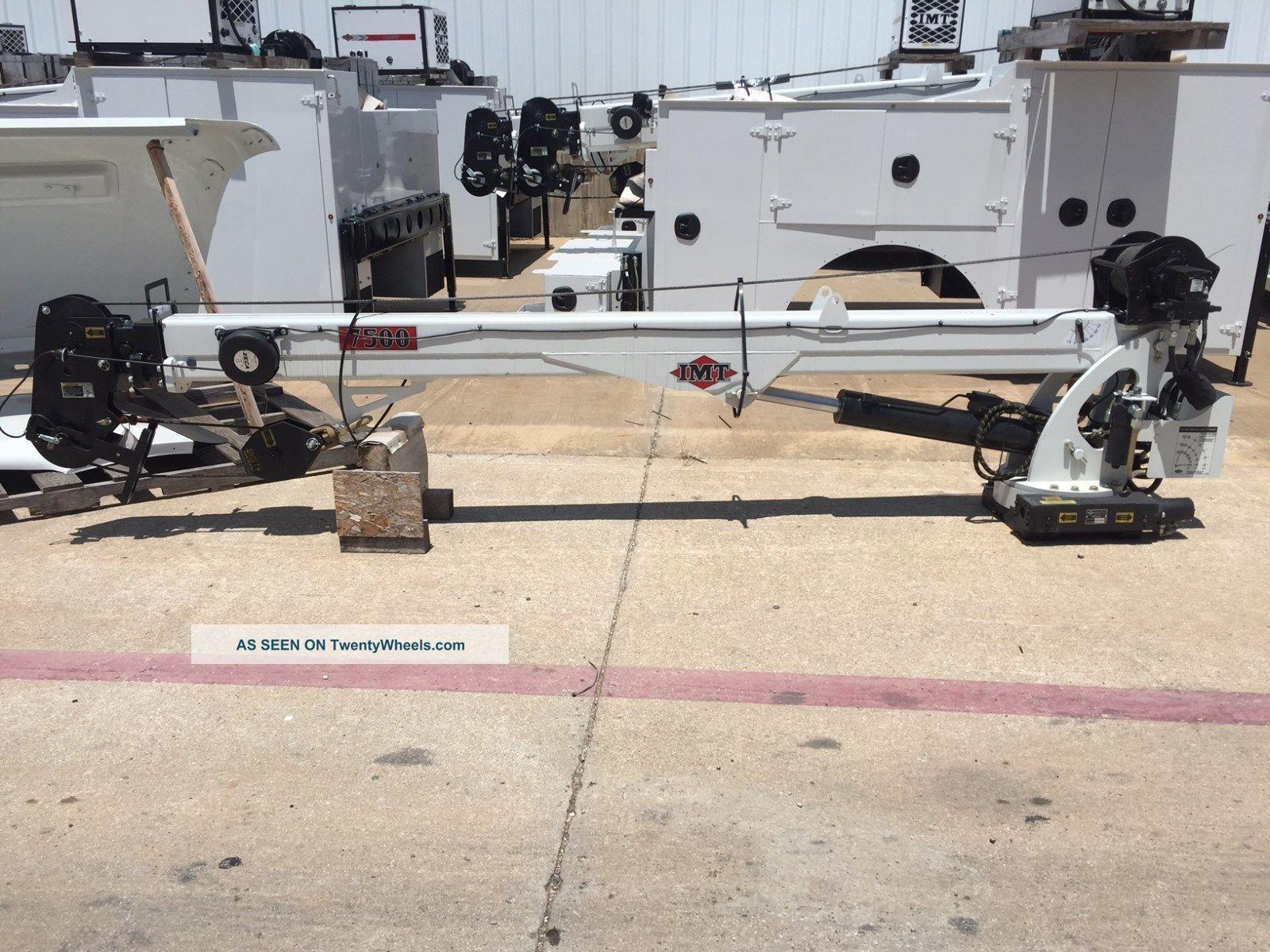 Imt 7500 Telescopic Crane - 22ft Cranes photo