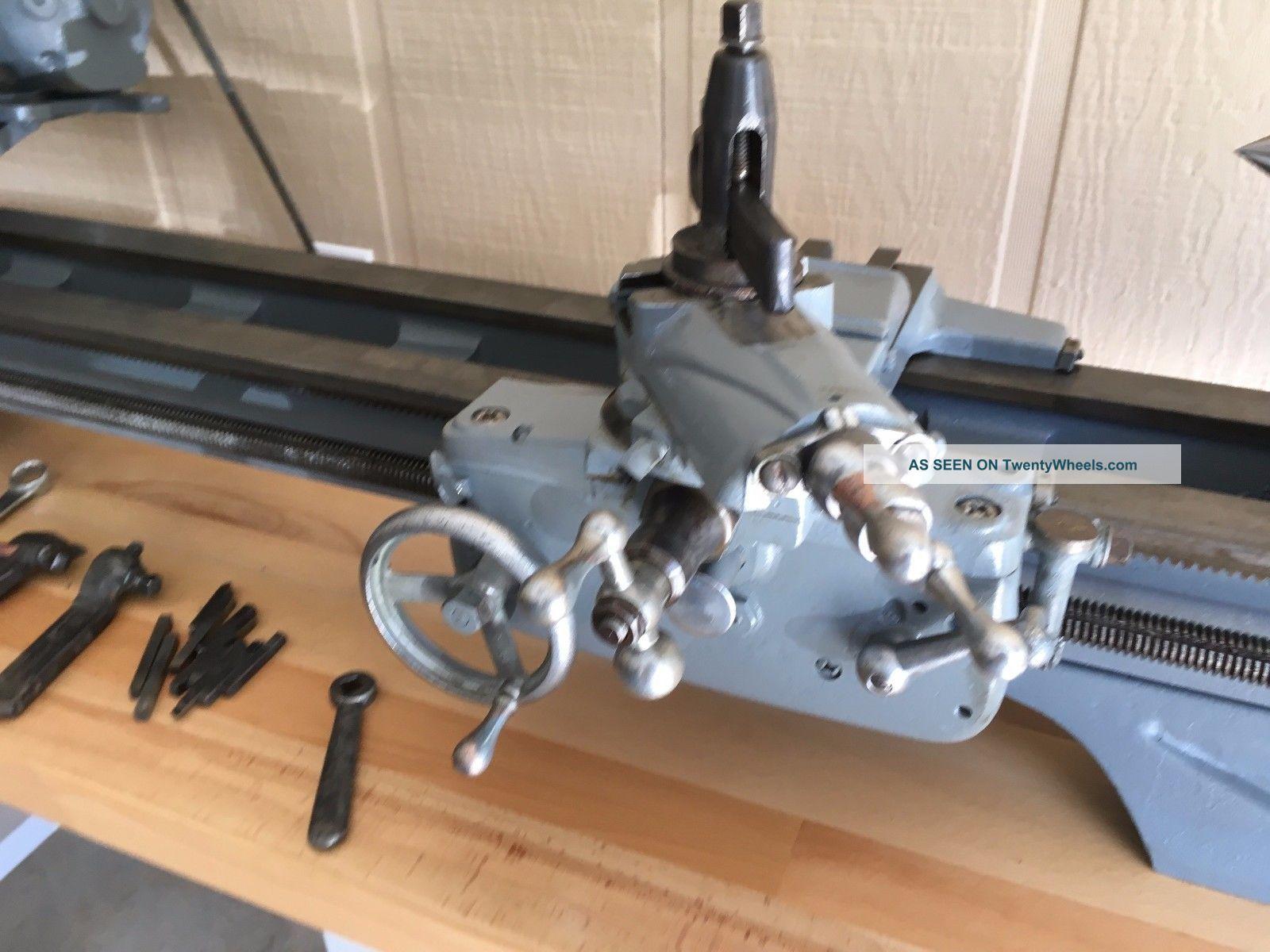 Craftsman / Atlas Engine Lathe Tv54 1ph 10