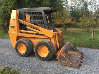 Case 1840 Skid Steer Loader Skidloader Cummins Diesel Low Rates photo
