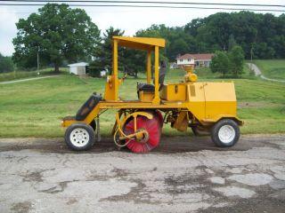 Broce Rc300 Broom / Street Sweeper,  Diesel,  2568 Hours,  Broom photo