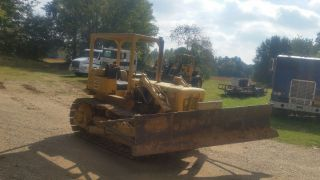 Cat D4d Bulldozer (a Baby Doll Rite Here) photo