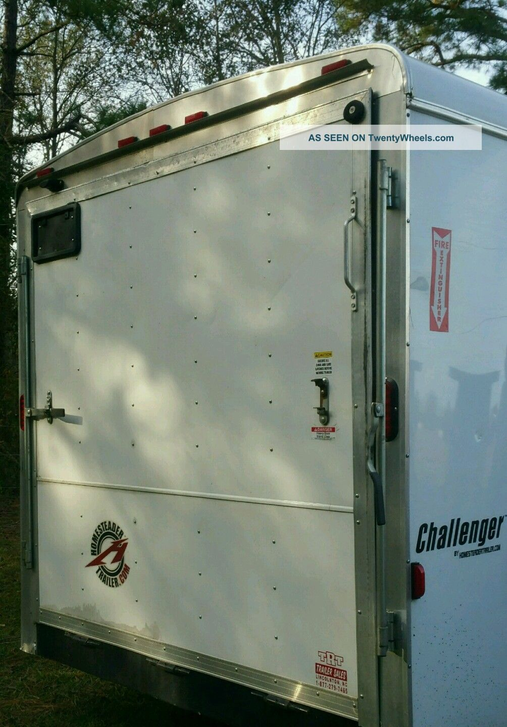 Challenger Enclosed Cargo Trailers Homesteader Trailers Autos Post