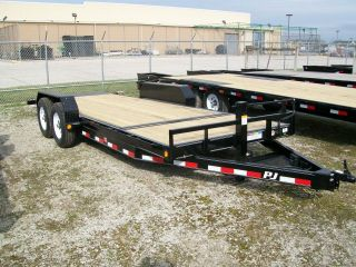 2016 Pj 20 ' Tilt Equipment Trailer - 14,  000 Gvw - Pj Model T6 photo