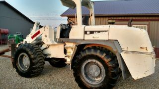 2006 Terex Skl873 Wheel Loader Tool Carrier Jib Boom Perkins Diesel 4x4 Sale photo