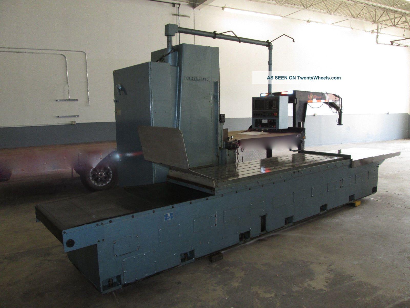 Cincinnati H - 100 Cnc Milling Machine,  Dynapth Control Milling Machines photo