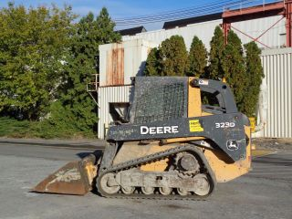 2012 John Deere 323d Track Skid Steer Loader - - Heat And Ac photo
