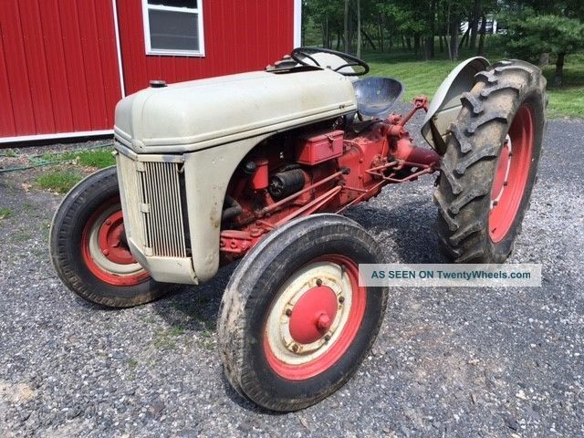 Tractor 3 Pt Lift : Vintage ford n farm tractor point rear lift w pto and
