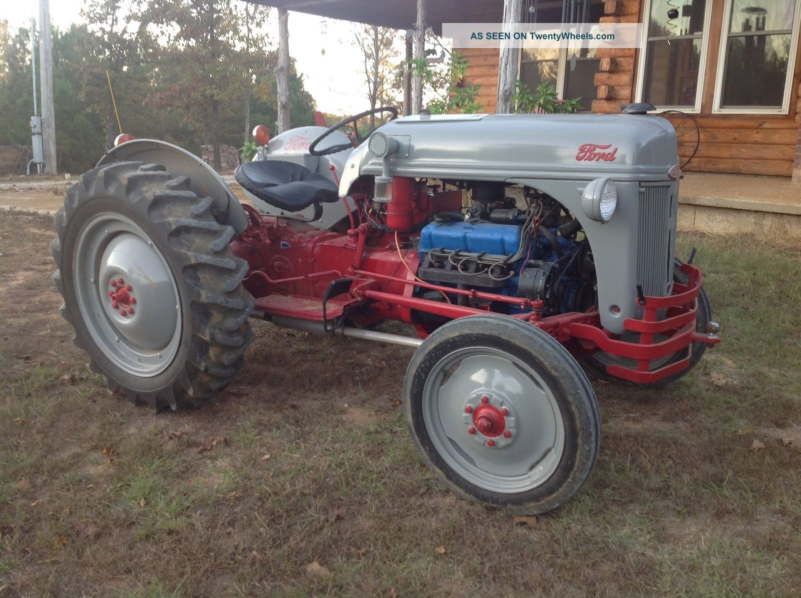 Old Ford Farm Tractors : Ford n tractor