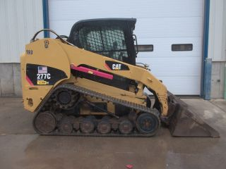 Cat 277c Skid Steer Owner 2900 Hours photo