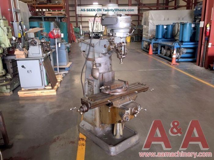 Bridgeport Vertical Milling Machine 24247 Milling Machines photo