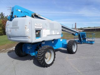 2007 Genie S65 65 ' Boom Lift 65ft Boom Lift Jib Manlift Straight Stick Boomlift photo