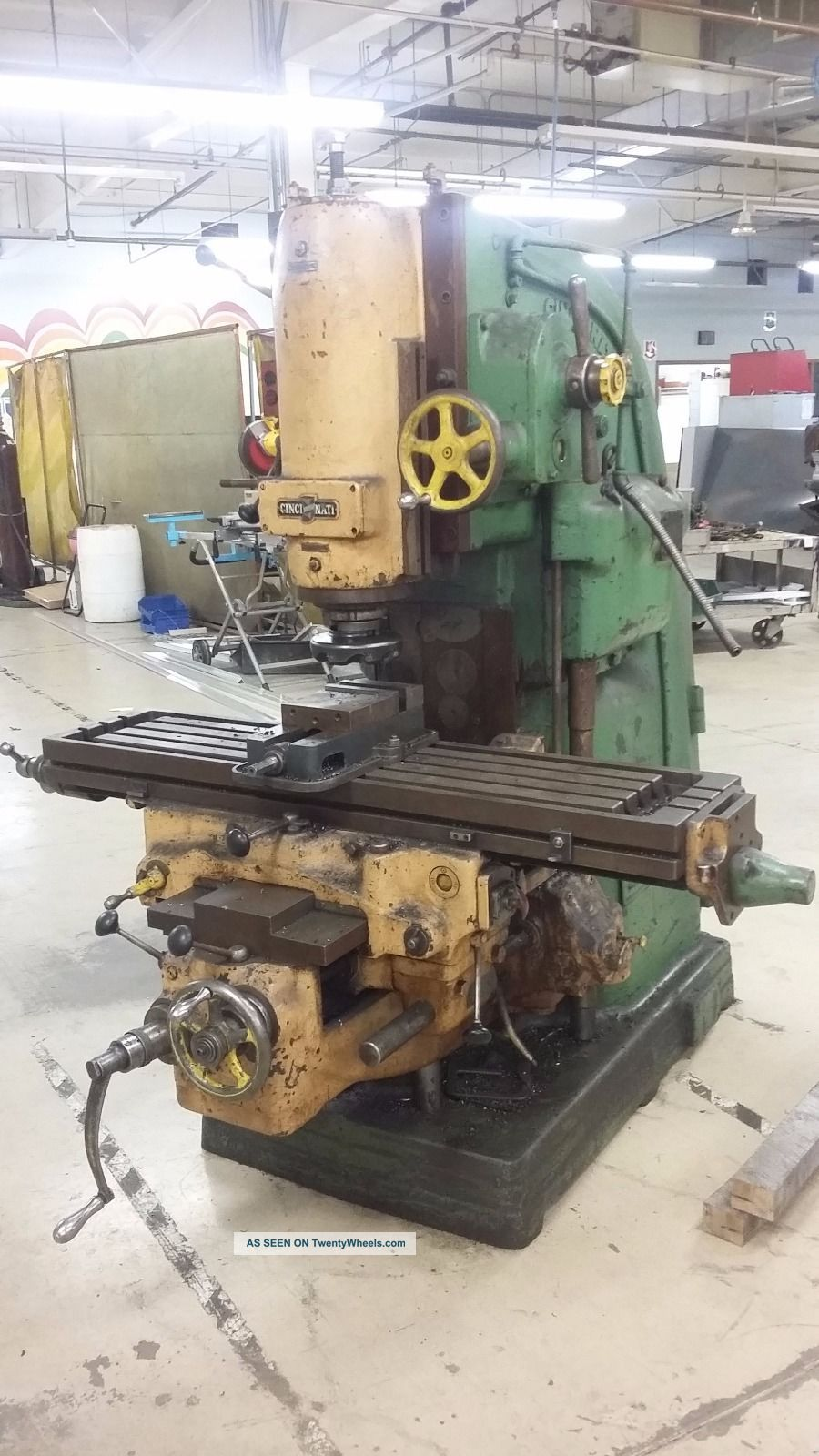 Cincinnati Mill No 2 Vertical Mill Milling Machines photo