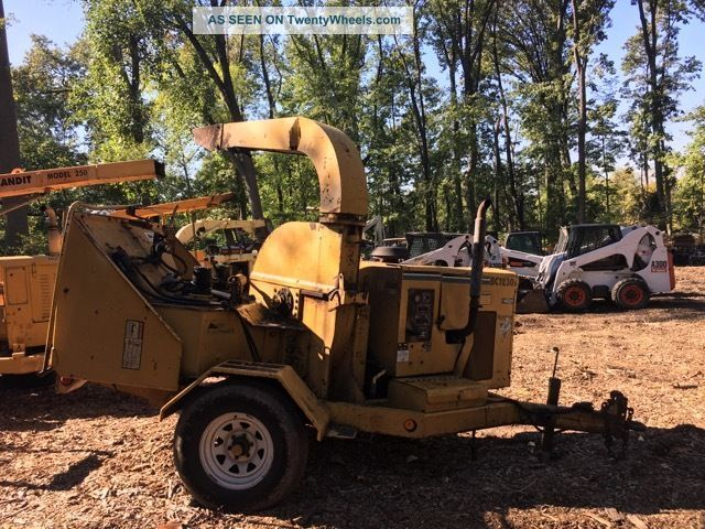 2004 Vermeer Bc1230a Chipper Wood Chippers & Stump Grinders photo