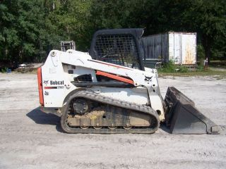 2012 Bobcat T630 Skidsteer Orops,  Aux Hyd,  Power Q Tach,  Hd Bobcat Bkt With Boe photo