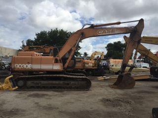 2002 Case 9030b Excavator photo