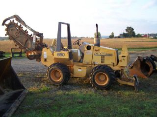 Case 660 Trencher 327 Hours photo