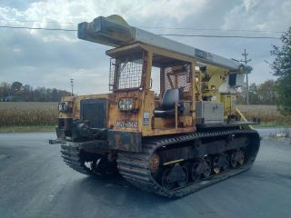 Morooka Mst1500 Very Good Tracks,  Terex 40 Foot Boom,  Priced To Sell. . . photo