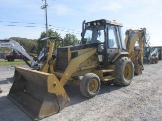 1997 Caterpillar 426b Tractor Loader Backhoe W/cab & Extenda Hoe photo