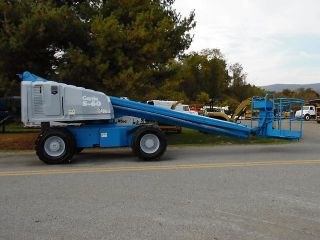 1993 Genie S - 60 Telescopic Boom Aerial Manlift photo