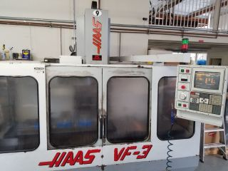 Haas Vf - 3 Cnc Vertical Machining Center Mill Ct40 4020 4th Axis Ready Rigid ' 96 photo