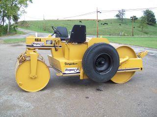 Ferguson 46a Asphalt/stone Roller,  W/tow Pac,  Wakaesha Diesel,  Hydrostatic Drive photo