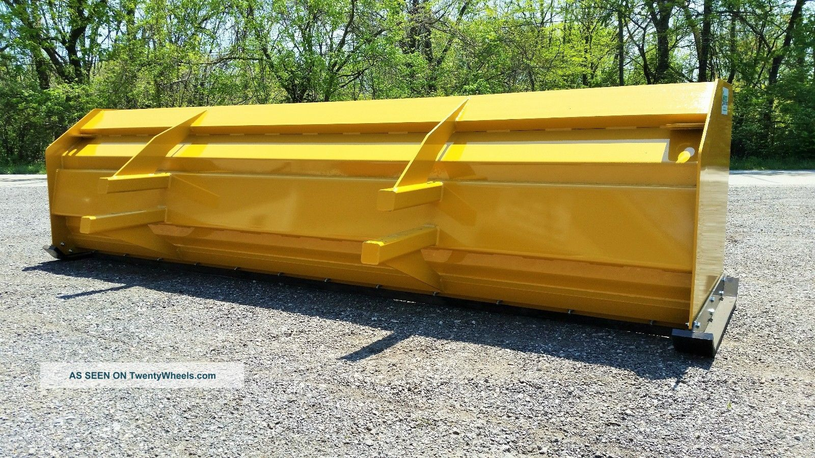 Snow Pusher Boxes Backhoe Loader Snow Plow Express Snow Pusher Lgw