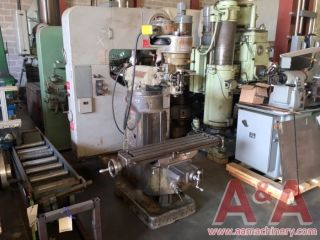 Bridgeport Vertical Milling Machine 16544 photo