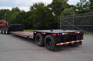 2011 48ft Double Drop Flatbed Tarasport Trailer photo