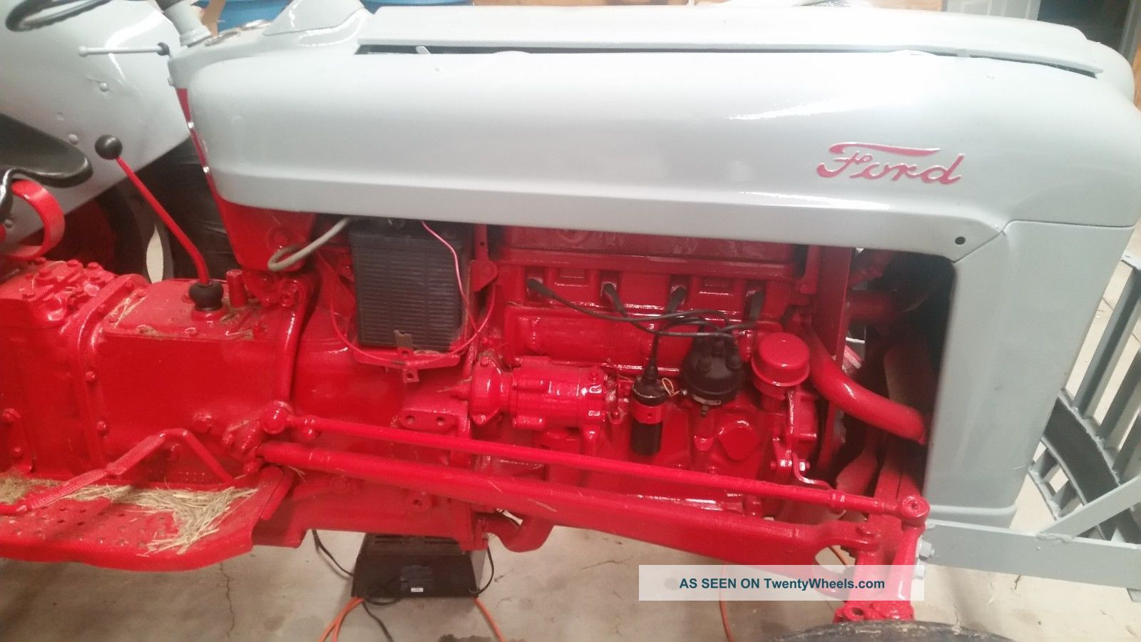 Ford 6n Tractor : N ford tractor ol red