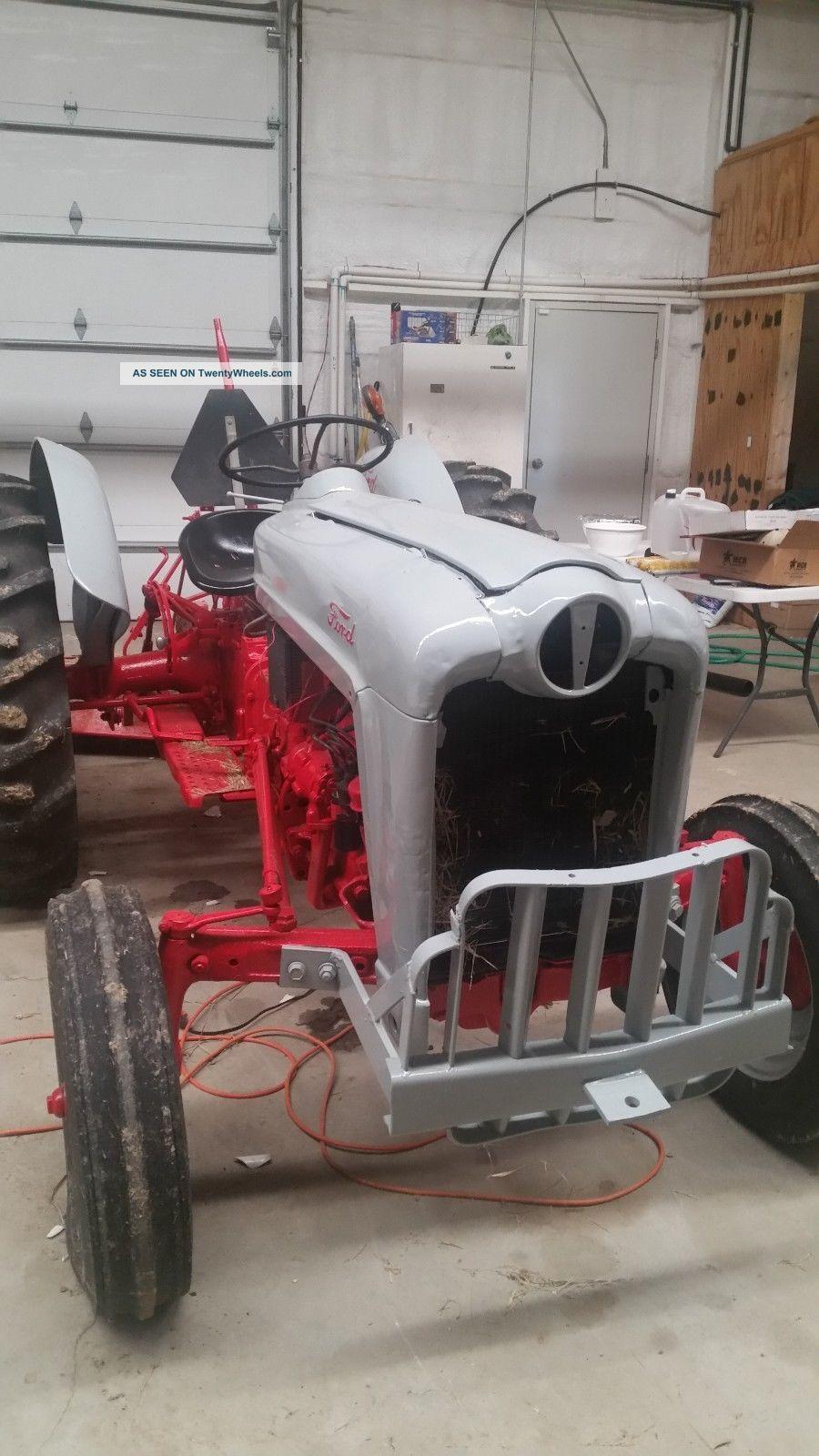 6n 8n 9n Ford Tractor Ol Red