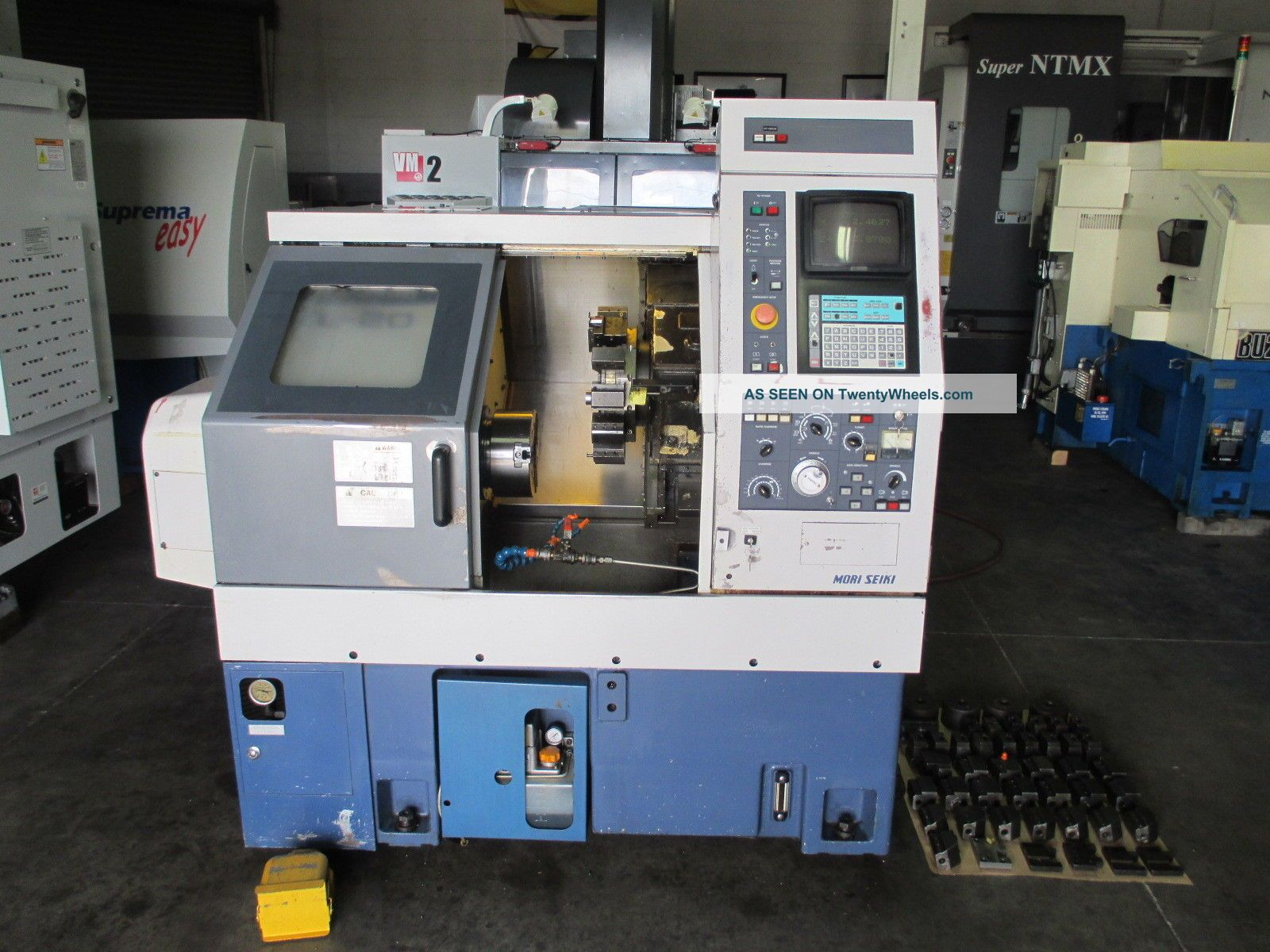 Mori Seiki Cl - 20a Cnc Lathe Metalworking Lathes photo