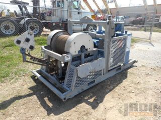 Wireline Winch - Skid Mounted W/ 3/16 Cable photo