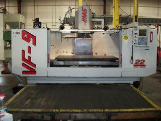 1997 Haas Vf - 9 Cnc Mill photo