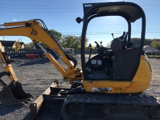 2007 Jcb 8040 Mini Excavator photo