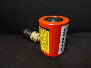 Spx Power Team Hydraulic Cylinder 10 Ton Rss101 Model B photo
