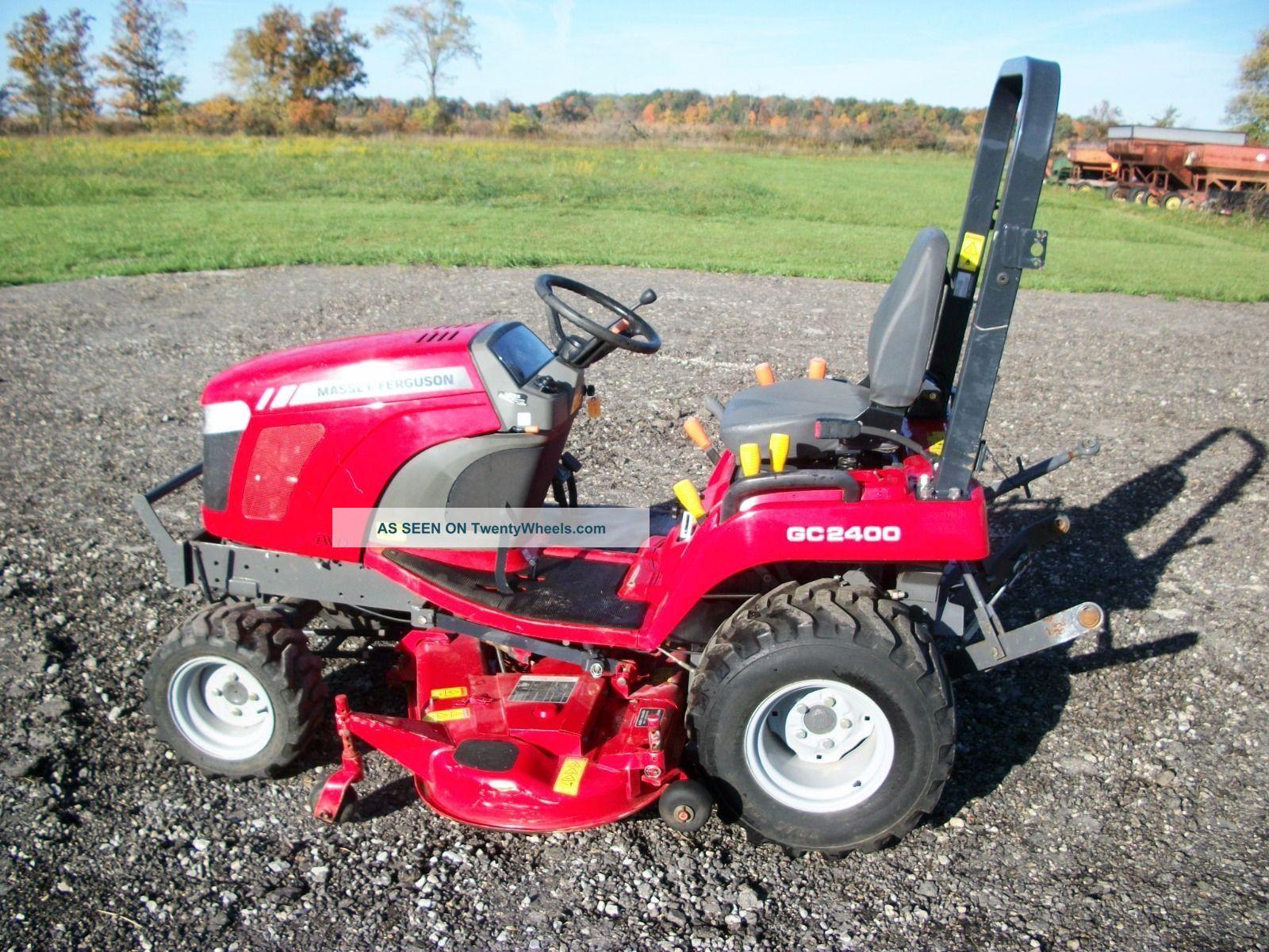 Massey Ferguson 2400 : Massey ferguson gc tractor wd hydro in