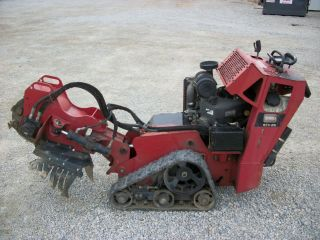 2010 Toro Stx26 Walk Behind Stump Grinder,  Rubber Tracks,  Kawasaki Gas,  1,  340hrs photo