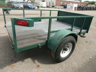 Heavy Duty Custom Utility Trailer photo