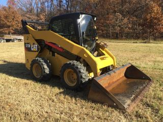 2012 Caterpillar 272d Skid Steer Loader Enclosed Cab W/ Heat Ac Cheap photo